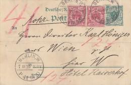 DR Rohrpostkarte Ganzsache Zfr. Minr.2x 47 Berlin 7.3.95 - Deutschland