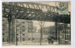 (q5-15) Paris Raffinerie Say Et Le MétropolitainBd De La Gare - Stations, Underground