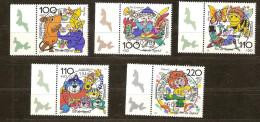Allemagne Deutschland Bund 1998 Yvertn° 1822-26 (°) Used Cote 14,00 Euro - [7] République Fédérale