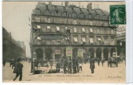 (q5-32)  Paris Place Du Palais Royal Le Métro - Metro, Estaciones