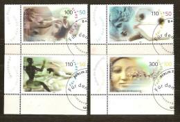 Allemagne Deutschland Bund 2000 Yvertn° 1926-29 (°) Oblitéré Used Cote 13,50 Euro Sport - Oblitérés