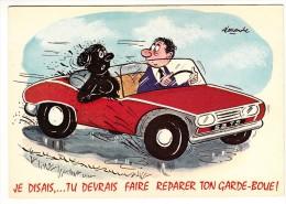 Illustrateur - Alexandre - Je Disais... Tu Devrais Faire Réparer Ton Garde-boue - Editeur: Lyna  Voitures836 - Alexandre