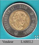 (2006) 2 Dollars Coin VF