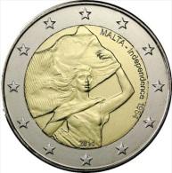 MALTA - 2 € COM. 2014 UNC - 50 JAAR ONAFHANKELIJKHEID - Malta