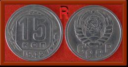 * RARITY * USSR 15 KOPECKS  1942!! NO RESERVE! - Russia