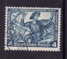 GERMANY THIRD REICH  1933  MICHEL NO: 500B  USED - Usados