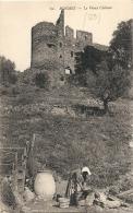BORMES Le Vieux Chateau Et Lavandiere Au Travail TTB  Neuve - Bormes-les-Mimosas