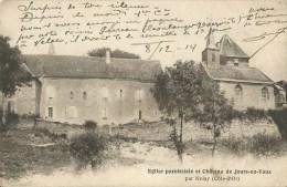 Jours-en-Vaux (21 ) Eglise Et Château - Altri Comuni