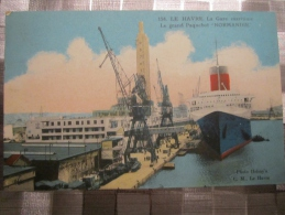 76 Le Havre Le Grand Paquebot Normandie  Photo Helmy's - Hafen