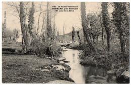 MORTAGNE SUR SEVRE--1905--Rochard--Un Coin De La Sèvre (animée,pêcheur) N°749  éd Lib Poupin-cachet NUEIL--49-- - Mortagne Sur Sevre