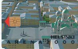 FINLAND - Helsinki Arena 2000, HPY telecard, CN : 000124, tirage 5000, 03/98, used