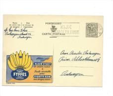 Belgique: Publibel Obl. N° 1364 ( Bananes  FYFFES; étiquette Bleue) Obl: Antwerpen 01/01/1956 - Fruits