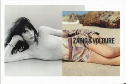Mode Féminine : Marque Zadig Et Voltaire , Collection Printemps été 2013 , Femme En Short - Fashion