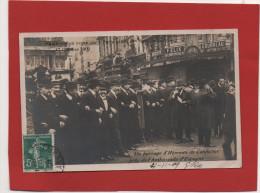 Postal Francesa Semana Trágica Barcelona 1909, Francisco Ferrer , Escuela Moderna , Paris Ambassade , Embajada - Barcelona