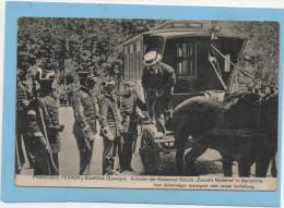Postal Alemana Semana Trágica Barcelona 1909, Francisco Ferrer Detención , Escuela Moderna - Barcelona