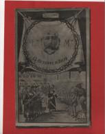 Postal Española Semana Trágica Barcelona 1909, Francisco Ferrer , Escuela Moderna , Paris - Barcelona