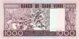 CAPE VERDE P. 56a 1000 E 1977 UNC - Kaapverdische Eilanden