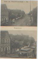 Allemagne, Gruss Aus Breuschwickersheim I. Els., Hauptstrasse, Tramway, N'a Pas Circulé, Ed. Goetzmann, Dos Divisé - Germany