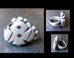 Bague Sarakole XIXème / Old Sarakole Silver Ring From Mali - Art Africain