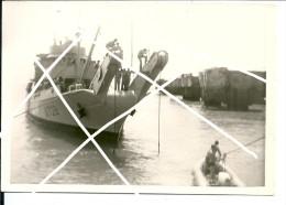 5 Photos Métiers De La Mer /Scaphandrier, Enlèvement D´Epaves à La Base Navale De Bordeaux   / Gironde - Bordeaux
