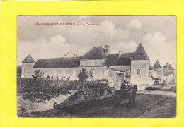 CPA -  BLIGNY Sous BEAUNE - Le Château - Attelage - France