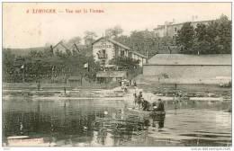 87-Limoges-Vue Sur La Vienne (guinguette Au Poisson Soleil) - Limoges