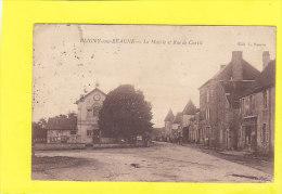 CPA -  BLIGNY Sous BEAUNE - La Mairie Et Rue De Curtil - France