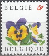 Belgique 2003 COB 3180 Neuf ** Cote (2016) 1.50 Euro Pensée - Belgique