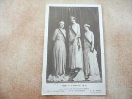 CHALON SUR SAONE - Fêtes De Carnaval 1932 - Les Reines De Chalon-sur-Saône - (Rare !) - Chalon Sur Saone