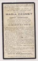 DP Maria DESMET - Verbrugge - Izegem - St.-Eloois-Winkel - 1918 - Oorlogslachtoffer  WO1 ? - Religione & Esoterismo