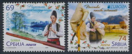 Serbia 2014 EUROPA CEPT, National Music Instruments, Set MNH - Europa-CEPT
