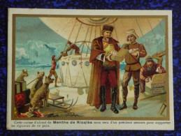 CHROMO Et IMAGE - ALCOOL DE MENTHE DE RICQLES  Fabriquée à ST OUEN - Chromos