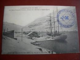l'assistance en mer le saint fran�ois d'assise faisant son charbon � seydic-fyord �dit. des oeuvres de mer en 1910