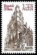 France N° 2132 ** Site - Lyon - Cathédrale Primatiale Saint Jean - France