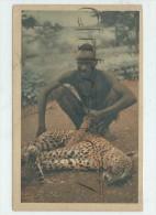 Mayo-Kebbi (Tchad) : GP dd'un chasseur de panth�re  en 1930 (anim�) PF.