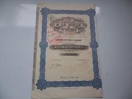 Grands Magasins A LA VILLE DE SAINT DENIS (1910) - Shareholdings
