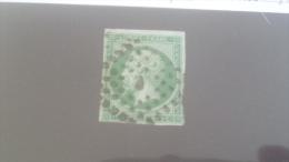LOT 231275 TIMBRE DE FRANCE OBLITERE N�11 VALEUR 100 EUROS