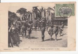 CONGO BELGE 1912 MATADI VERS MONT SAINT-AMAND - Congo Belge - Autres