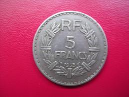 France - 5 Francs Lavrillier - 1935 - France