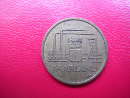 Allemagne - Sarre - 10  Francs - 1954 - [ 8] Saarland
