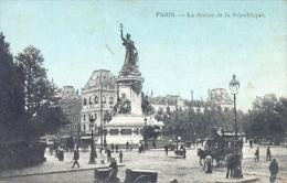 CPA PARIS - LA STATUE DE LA REPUBLIQUE - Statues