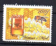 POLYNESIE FRANCAISE - ABEILLE - SENTEUR MIEL -100fr - 2014 - - Polynésie Française