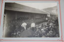 Superbes Photographies Du Maréchal LYAUTEY Encore Général à ALGER Avec Le Général BAILLOUD - Guerre, Militaire