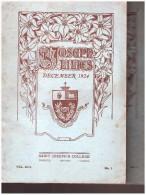 St Joseph ´s College  Toronto  Ontario Canada    Lilies  December 1924 Et  June 1925 - Canada
