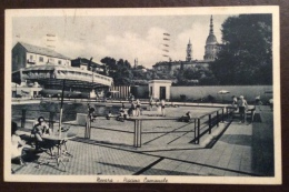 IMPIANTI SPORTIVI - NOVARA  -  PISCINA COMUNALE   - VIAGGIATA 1943 - Natation