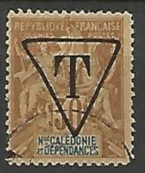 N-CALEDONIE TAXE N� 6 FAUX DE FOURNIER  OBL  TTB RR