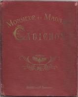 Livre D'Images/ Monsieur Et Madame Cadichon/ Anes Savants/G. Gaulard/ Boivin/ Firmin Didot/1925  BD70 - Bücher, Zeitschriften, Comics