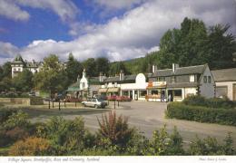 Village Square, Strathpeffer, Ross And Cromarty, Scotland - Innes 2SC 329 Unused - Ross & Cromarty