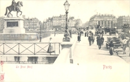 CPA PARIS - LE PONT NEUF - Ponts