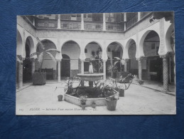 Alger  Interieur D'une Maison Mauresque - LL 125 - Circulée 1906 - L171 - Algerien